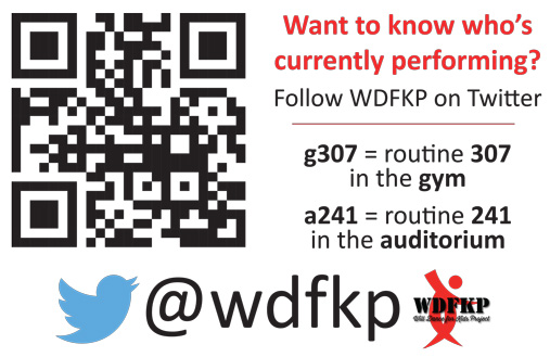 WDFKP Competition Twitter Updates
